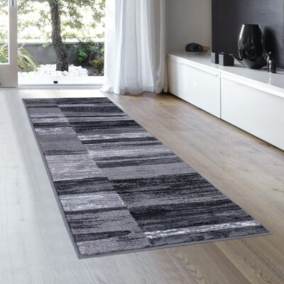 Ingram High-Quality Shadow Area Rug Rug Size: Runner 23 x 611