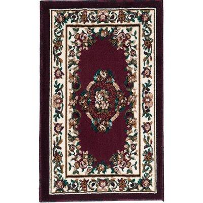 Arietta Woven Floral Printed Doormat