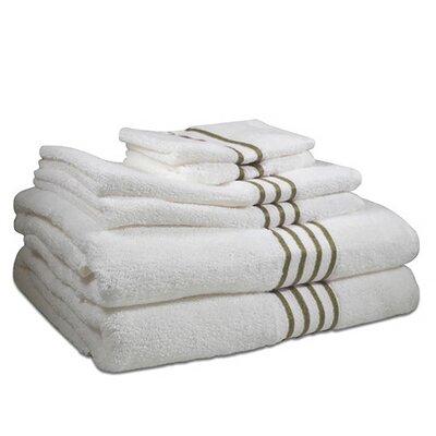 6 Piece Towel Set Color: Cheteau Grey