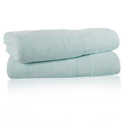 Low Twist Bath Sheet Color: Sky Blue