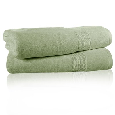 Low Twist Bath Sheet Color: Light Jade