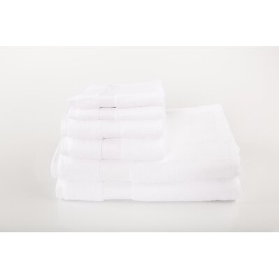Cloud Zero 6 Piece Towel Set Color: White