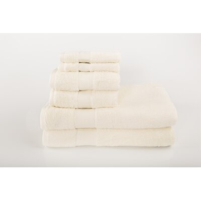 Cloud Zero 6 Piece Towel Set Color: Sanddollar