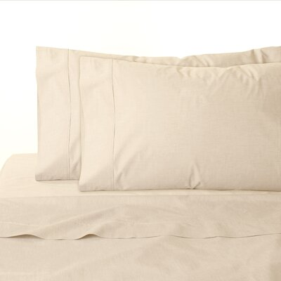 200 Thread Count 100% Cotton Sheet Set Size: California King, Color: Sand