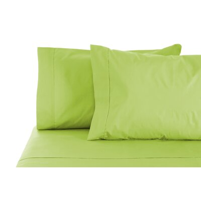350 Thread Count 100% Egyptian Organic Cotton Sheet Set Size: Queen, Color: Moss