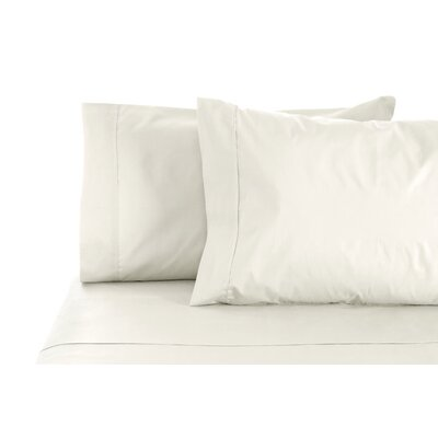 300 Thread Count 100% Egyptian Organic Cotton Sheet Set Color: Ivory, Size: Queen
