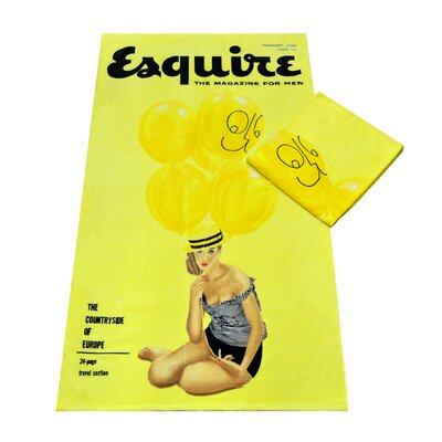Esquire Beach Towel