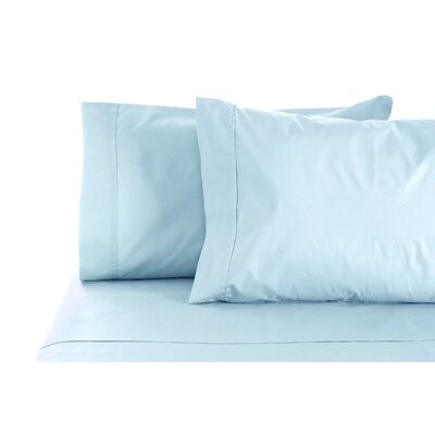 300 Thread Count 100% Egyptian Organic Cotton Sheet Set Size: Full, Color: Blue