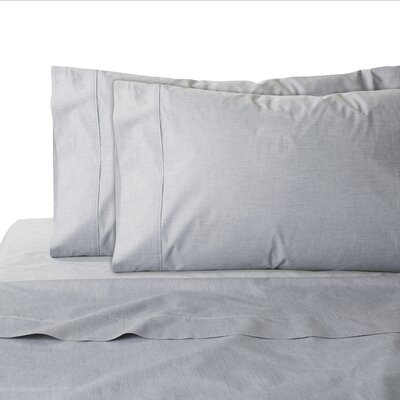 200 Thread Count 100% Cotton Sheet Set Size: King, Color: Dark Grey