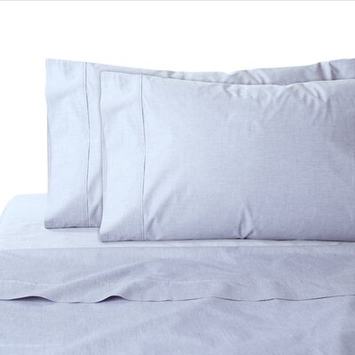 200 Thread Count 100% Cotton Sheet Set Color: Blue, Size: California King