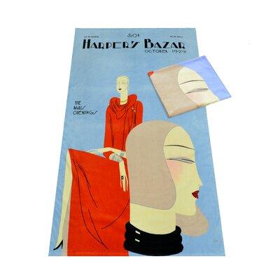 Harpers Bazaar Beach Towel