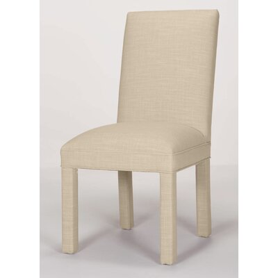 Brook Solid Upholstered Dining Chair Upholstery: Cream
