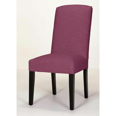 Anderson Side Chair Base Finish: Brown Cherry, Upholstery: Fuchsia