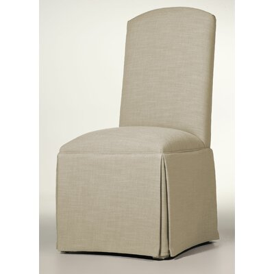 Lamoille Traditional Skirted Upholstered Dining Chair Upholstery: Cream