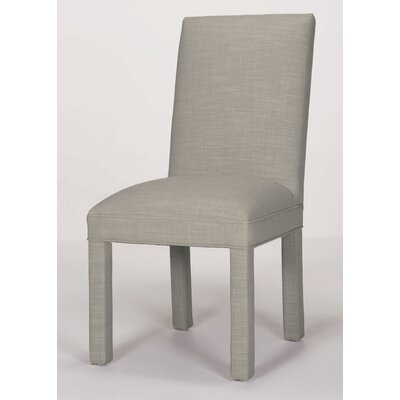 Brook Solid Parsons Chair Upholstery: Pewter