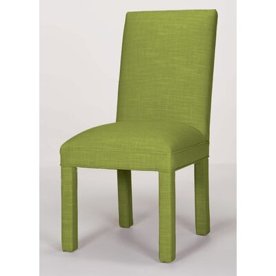 Brook Solid Parsons Chair Upholstery: Lime