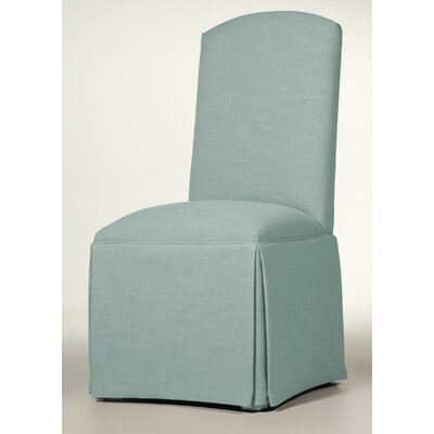 Lamoille Traditional Skirted Upholstered Dining Chair Upholstery: Cloud