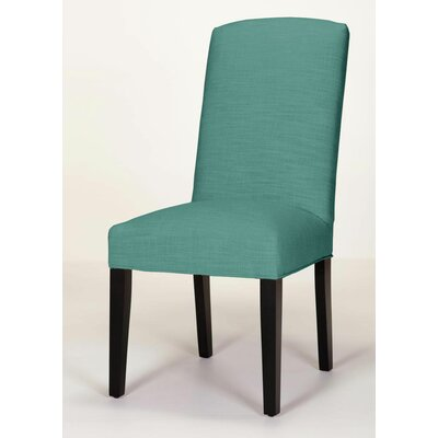 Anderson Side Chair Upholstery: Turquoise, Base Finish: Matte Black