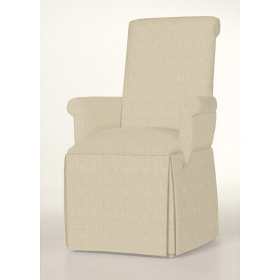Arvidson Skirted Arm Chair Upholstery: Cream