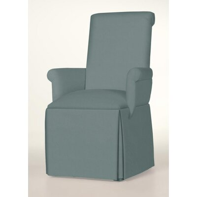Hadlock Skirted Arm Chair Upholstery: Cloud