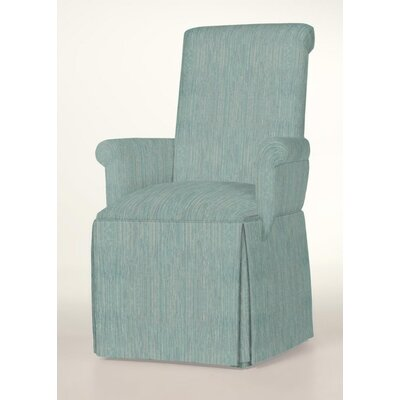 Hadlock Skirted Arm Chair Upholstery: Bahamas