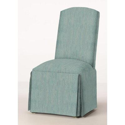 Lamoille Traditional Skirted Upholstered Dining Chair Upholstery: Bahama