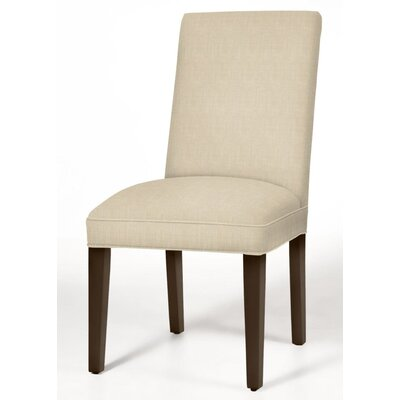 Pearl Parsons Chair Finish: Dark Walnut, Upholstery: Cream