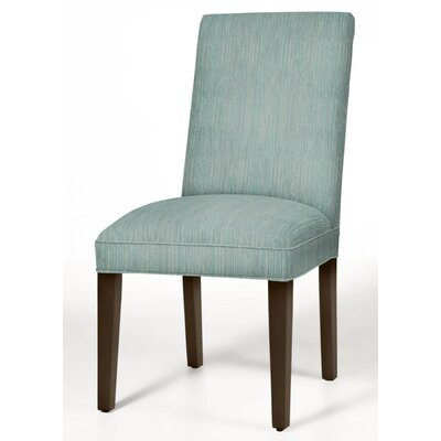 Pearl Parsons Chair Finish: Dark Walnut, Upholstery: Bahama