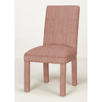 Brook Solid Parsons Chair Upholstery: Vintage Red