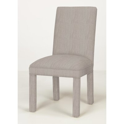 Brook Solid Parsons Chair Upholstery: Stone