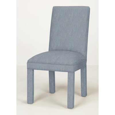 Brook Solid Parsons Chair Upholstery: Denim
