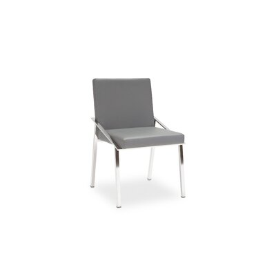 Kate Side Chair Finish: Grey PU
