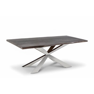 Dalene Dining Table Finish: Dark Ash, Size: 30H x 94 W x 42 D