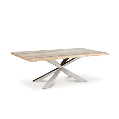 Dalene Dining Table Size: 30 H x 79 W x 40 D, Finish: Natural