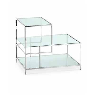 Maria End Table Color: Polished Stainless Steel