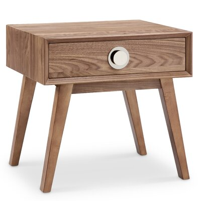 Moon End Table Finish: Silver