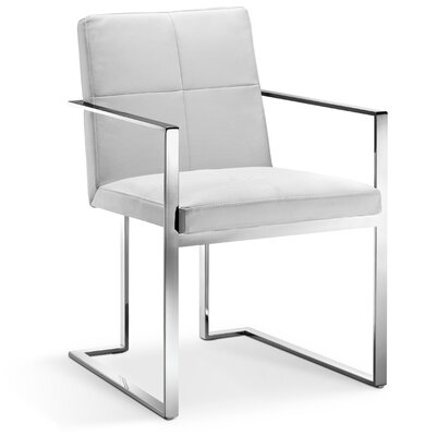Phoenix Arm Chair Finish: White