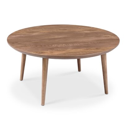 Sloan Round Coffee Table Color: Solid leg