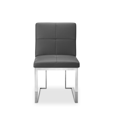 Bona Side Chair (Set of 2) Finish: Grey