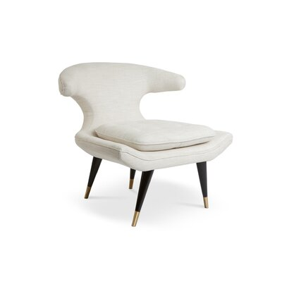 Isabel Lounge Chair Upholstery: White