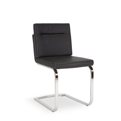 Max Side Chair (Set of 2) Finish: Black