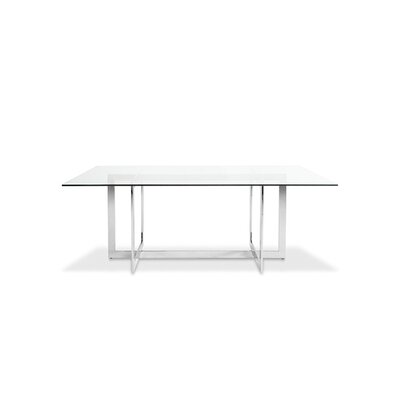 Kendra Dining Table Size: 30 H x 40 W x 79 L