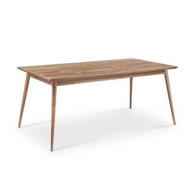 Sloan Dining Table Finish: Natural Walnut