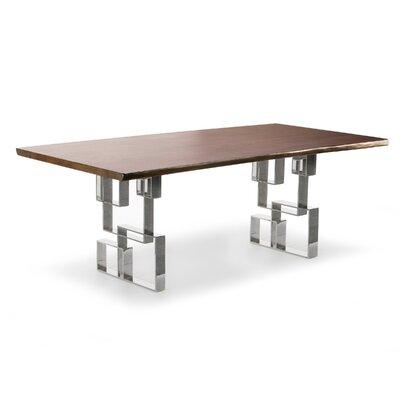Pollitt Dining Table Size: 30 H x 94 W x 42 D