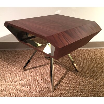 Karlee End Table Color: Brown