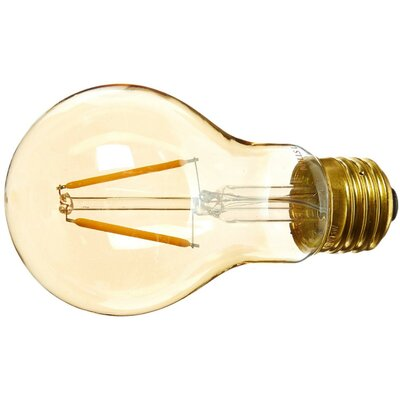 Amber E26 LED Vintage Filament Light Bulb Wattage: 25 W