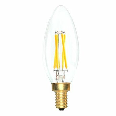 E12 LED Vintage Filament Light Bulb Wattage: 40 W