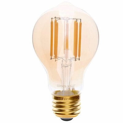 E26 LED Vintage Filament Light Bulb Wattage: 75 W