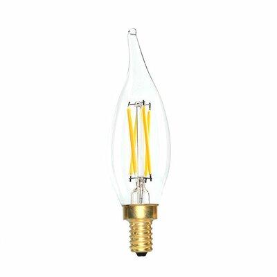 E12 LED Vintage Filament Light Bulb Wattage: 40 W