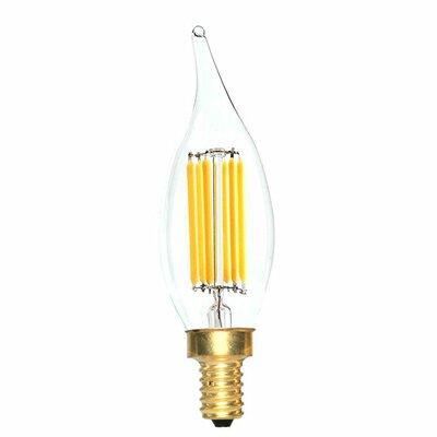 E12 LED Vintage Filament Light Bulb Wattage: 60 W